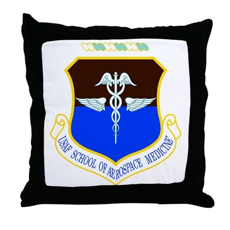 Aerospace Medicine Throw Pillow