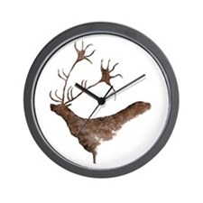 Elk only Wall Clock