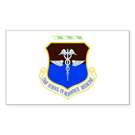 Aerospace Medicine Rectangle Sticker