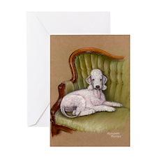 Bedlington-Her Royal Highness Greeting Card
