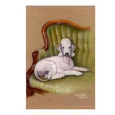 Bedlington-Her Royal Highness Postcards (8 pack)