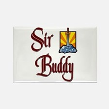 Sir Buddy Rectangle Magnet