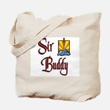 Sir Buddy Tote Bag