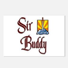 Sir Buddy Postcards (Package of 8)