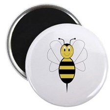 Smiling Bumble Bee Magnet