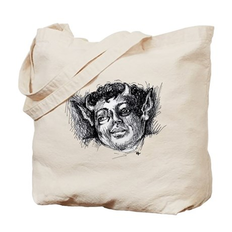 Dark Angel Tote Bag
