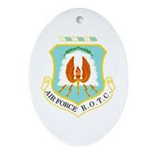 Air Force ROTC Oval Ornament