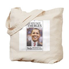 A New Face Emerges Tote Bag