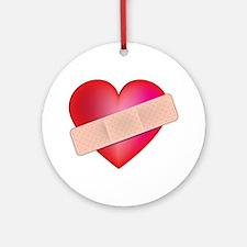 Healing Heart Ornament (Round)