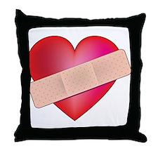 Healing Heart Throw Pillow
