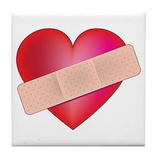 Healing Heart Tile Coaster