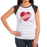 Broken heart Women's Cap Sleeve T-Shirt