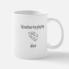 Playing Dice Mug