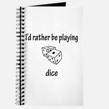 Playing Dice Journal