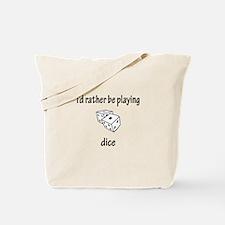 Playing Dice Tote Bag