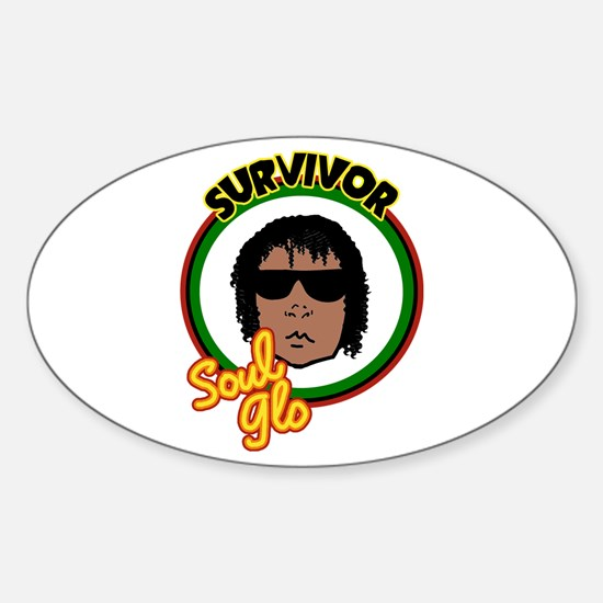 Riyah-Li Designs Soul Glo Sticker (Oval)
