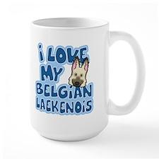 I Love my Laekenois Mug