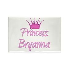 Princess Bryanna Rectangle Magnet