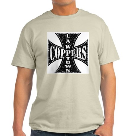 LawTown Coppers Ash Grey T-Shirt