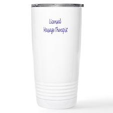 Licensed Massage Therapist Travel Mug