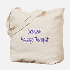 Licensed Massage Therapist Tote Bag