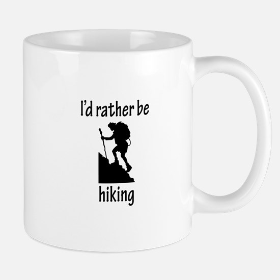 Rather Be Hiking Mug
