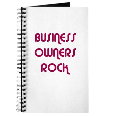 BUSINESS OWNERS ROCK Journal