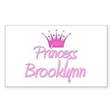 Princess Brooklynn Rectangle Decal