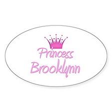 Princess Brooklynn Oval Decal