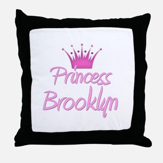 Princess Brooklyn Throw Pillow