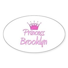 Princess Brooklyn Oval Decal