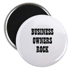 BUSINESS OWNERS ROCK Magnet