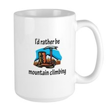 Rather Be Mountain Climbing Mug