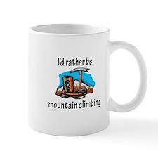 Rather Be Mountain Climbing Mug