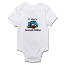 Rather Be Mountain Climbing Infant Bodysuit