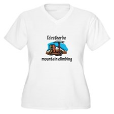 Rather Be Mountain Climbing T-Shirt