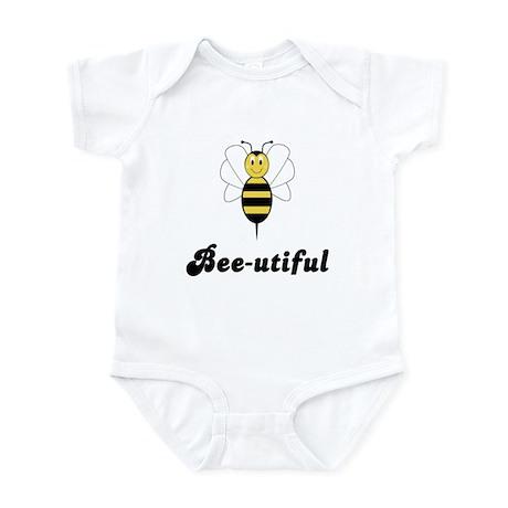 Smiling Bumble Bee Bee-utiful Infant Bodysuit