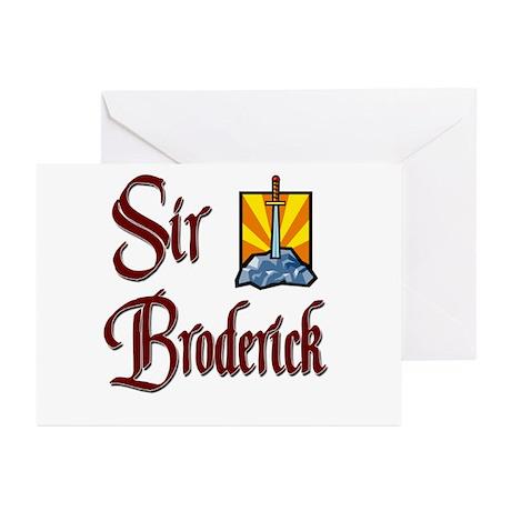 Sir Broderick Greeting Cards (Pk of 20)