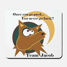 Team Jacob Pack Mousepad