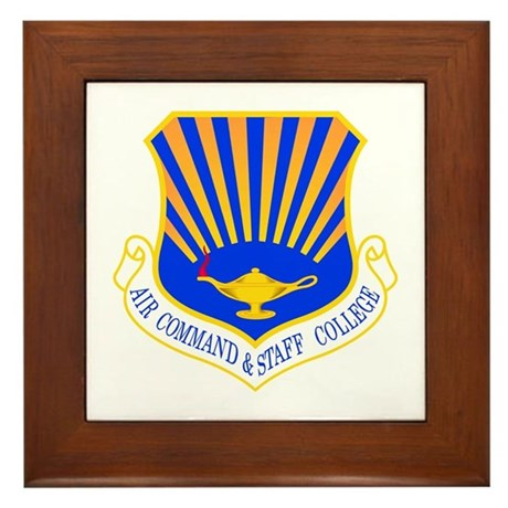 Command & Staff Framed Tile