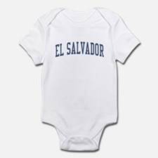 El Salvador Blue Infant Bodysuit