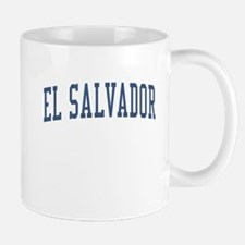El Salvador Blue Mug