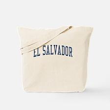 El Salvador Blue Tote Bag