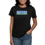 Golf Quotes Tri Women's Dark T-Shirt