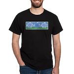 Golf Quotes Tri Dark T-Shirt
