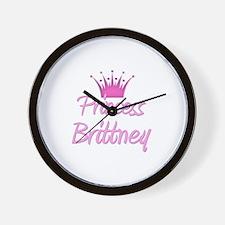 Princess Brittney Wall Clock