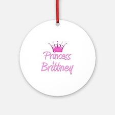 Princess Brittney Ornament (Round)
