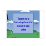 Golf Quotes Sneed Postcards (Package of 8)
