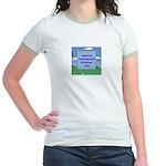 Golf Quotes Sneed Jr. Ringer T-Shirt