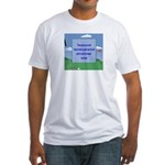 Golf Quotes Sneed Fitted T-Shirt